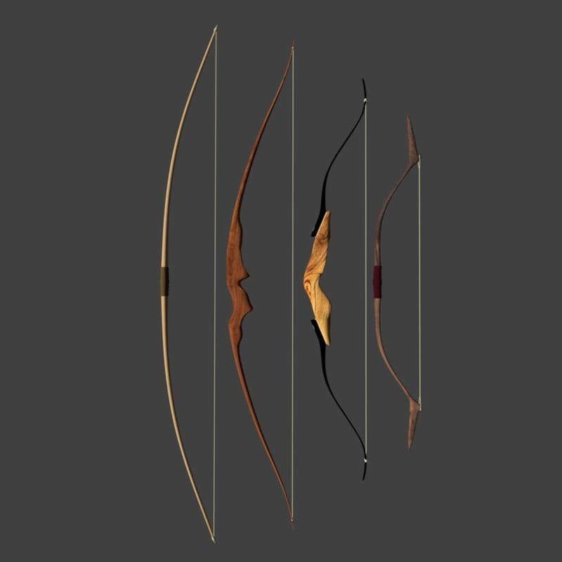 bows arrows 3ds