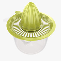 3d model squeezer hand held juicer