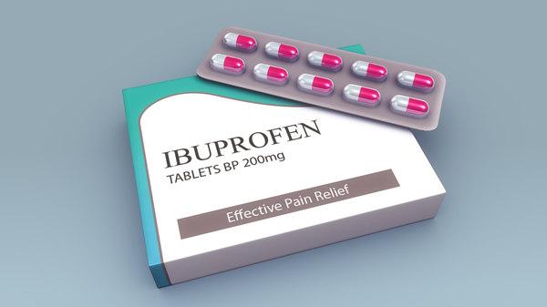 3d model pills