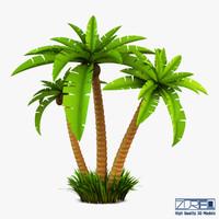 palm tree v 2 3d model