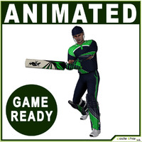 cricket bat 3d max