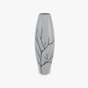 3d modern vase