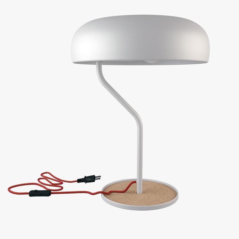 max halo lamp table