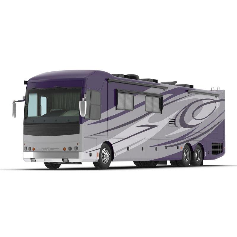 recreation vehicle generic 3d model