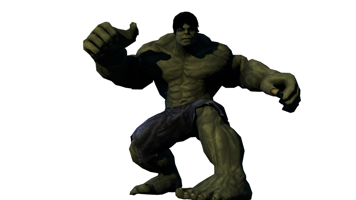 free fbx model hulk