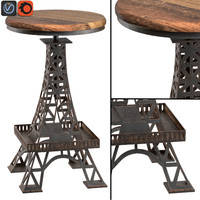 eiffel tower bar stool max