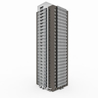 25 storey house 3d 3ds