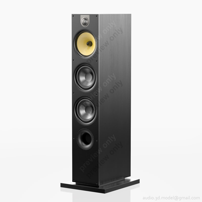 3ds floorstanding bowers wilkins 683