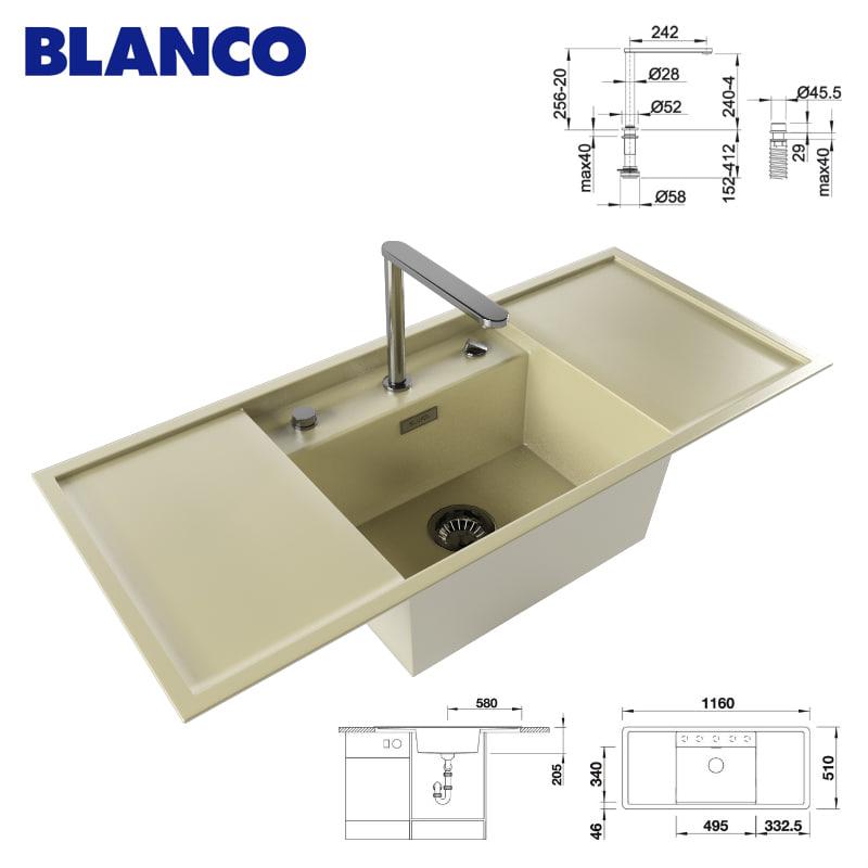 kitchen sink faucet blanco max