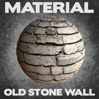 Old Stone Wall (Material)