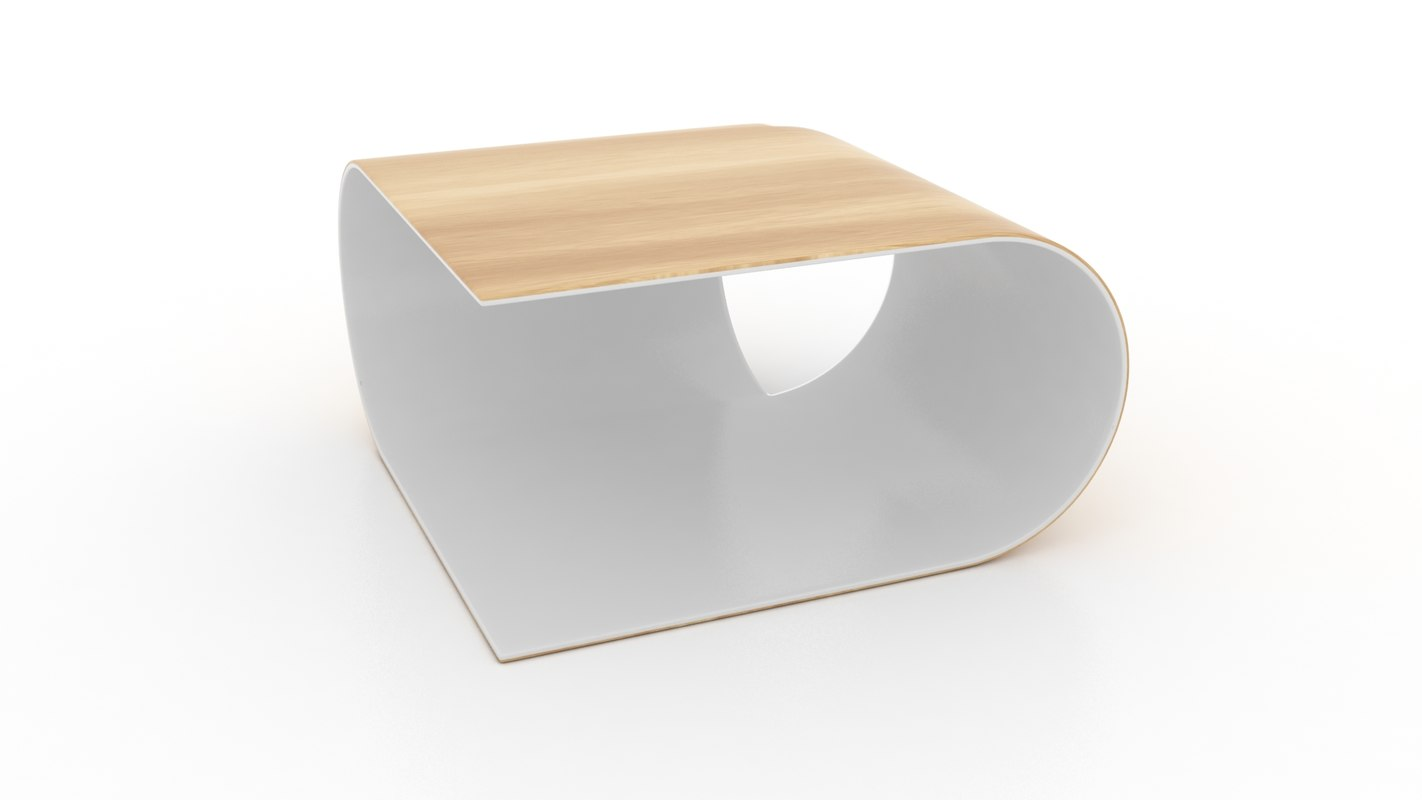 obj coffee table contemporary