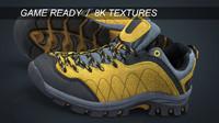 3d model realistic sneakers