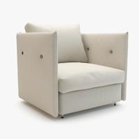 3d roda double sofa 003