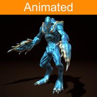 3d model character creature bug