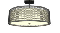 Spencer Semi-Flush Mount 3d