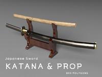 japanese sword ( katana & prop )