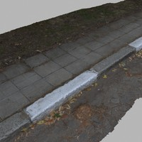 3d curb 4 -autumn