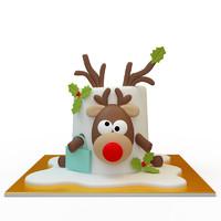 3d cake 059 model