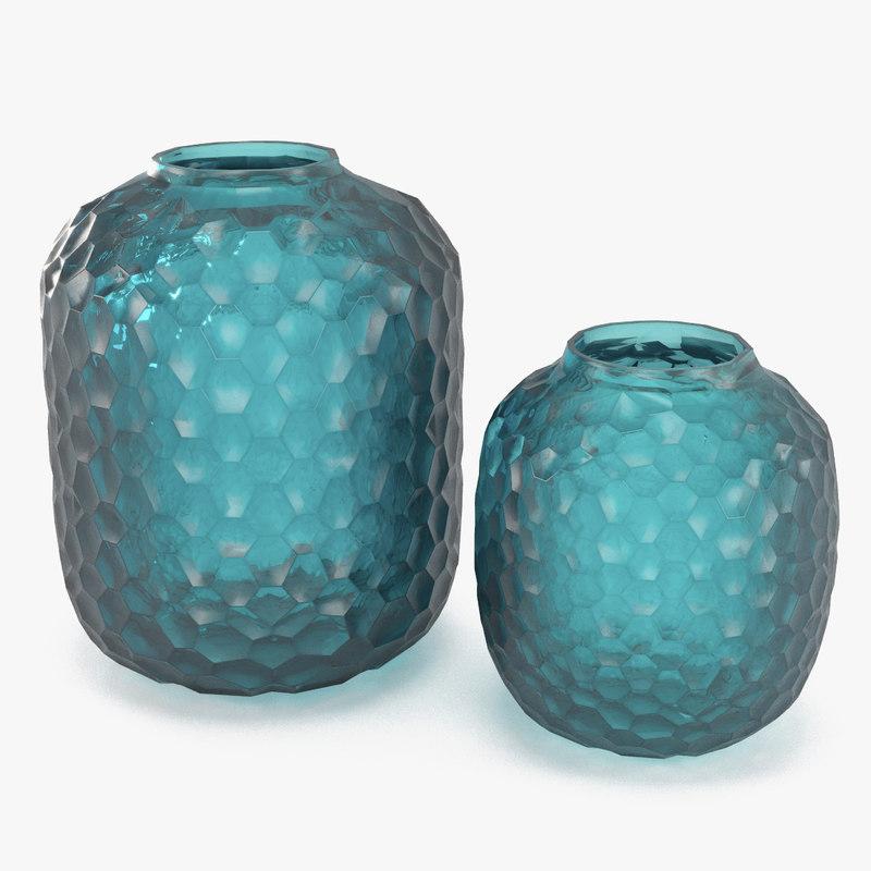 3d guaxs bambola vase model