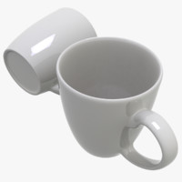 3d ceramic mug model