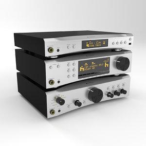 amplifier cd player 3d 3ds