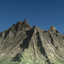 mountain range 3D models