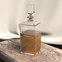 Single Whiskey Decanter