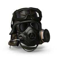 3d pbr military helmet