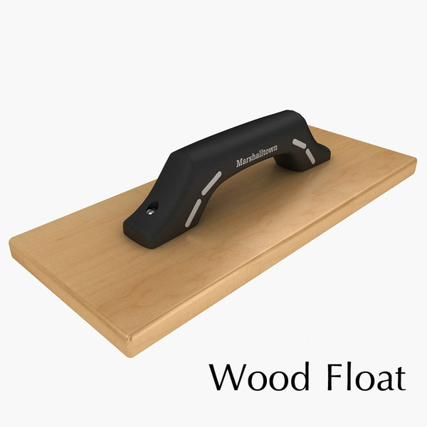 3d wood float