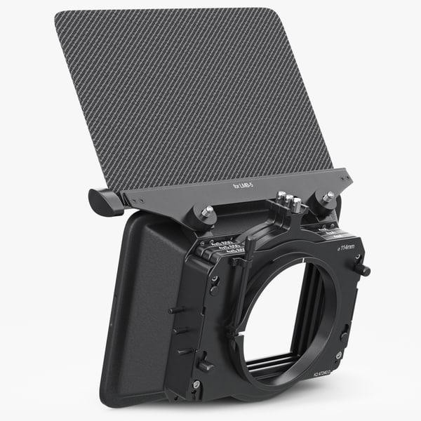 hood camera red epic 3d model