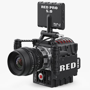 x red epic camera