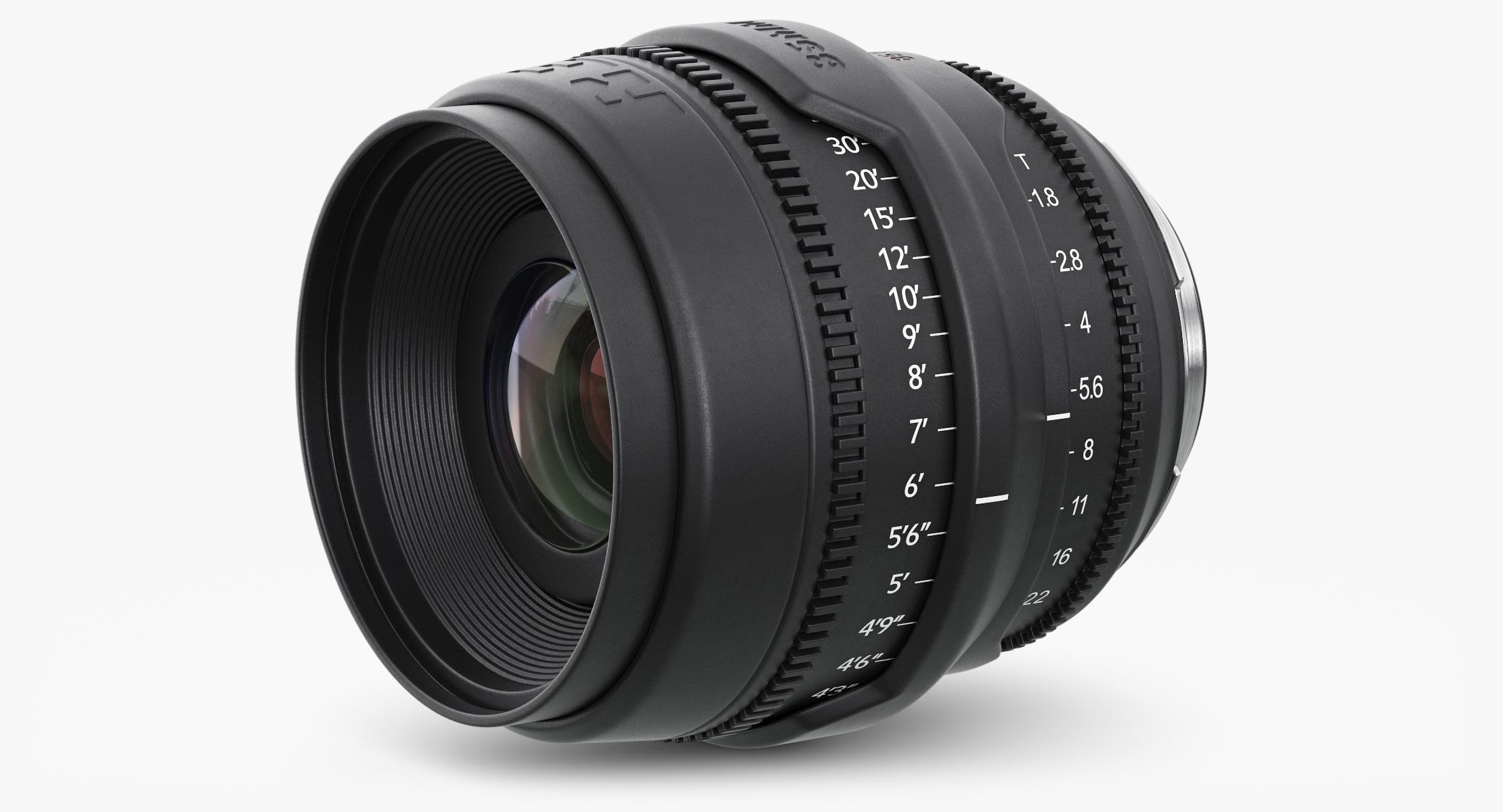 3d camera lens red epic model