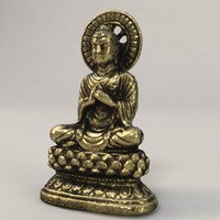 3d model buddha