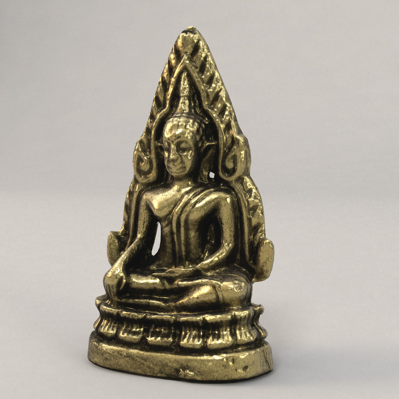 3d buddha thailand model