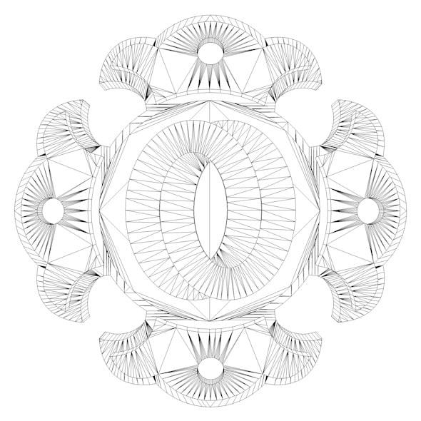 3d model of shorinji kempo logo