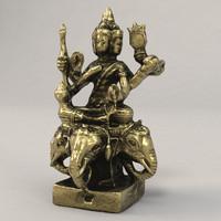 3d model brahma