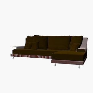 3d model multi sofa mix