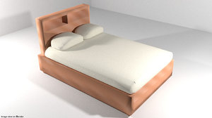 basebed bedcover 3d 3ds
