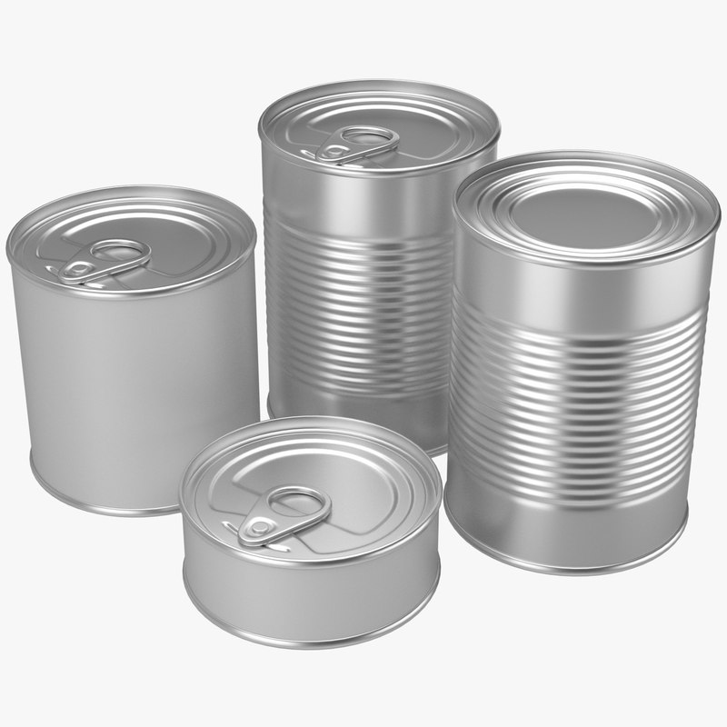 3d canned food 1