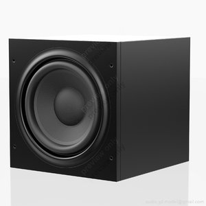 subwoofer bowers wilkins asw 3d model