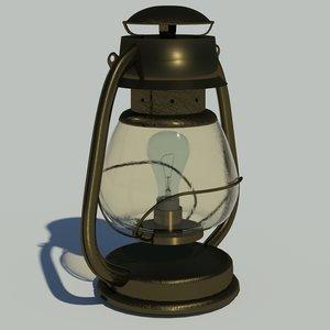 3d lamp lighting