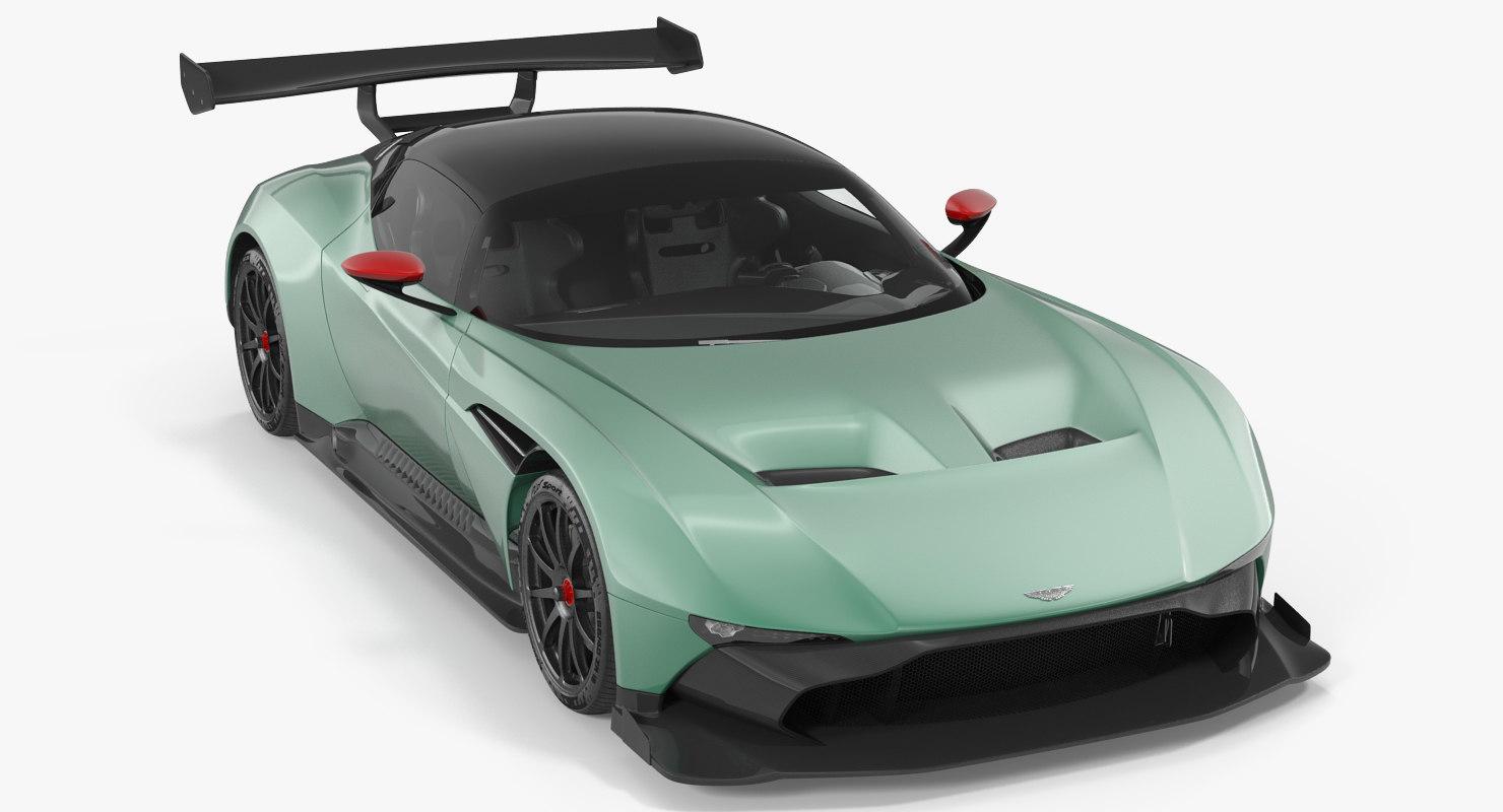 Aston Martin Vulcan 2016 3d Max