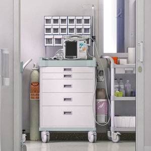 3d model hospital set