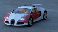 3d model of veyron 16 4