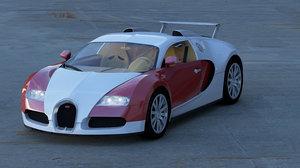 3d model of veyron 16 4