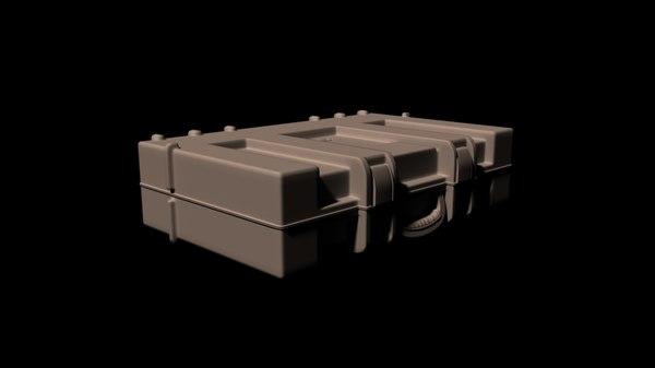 3d briefcase case