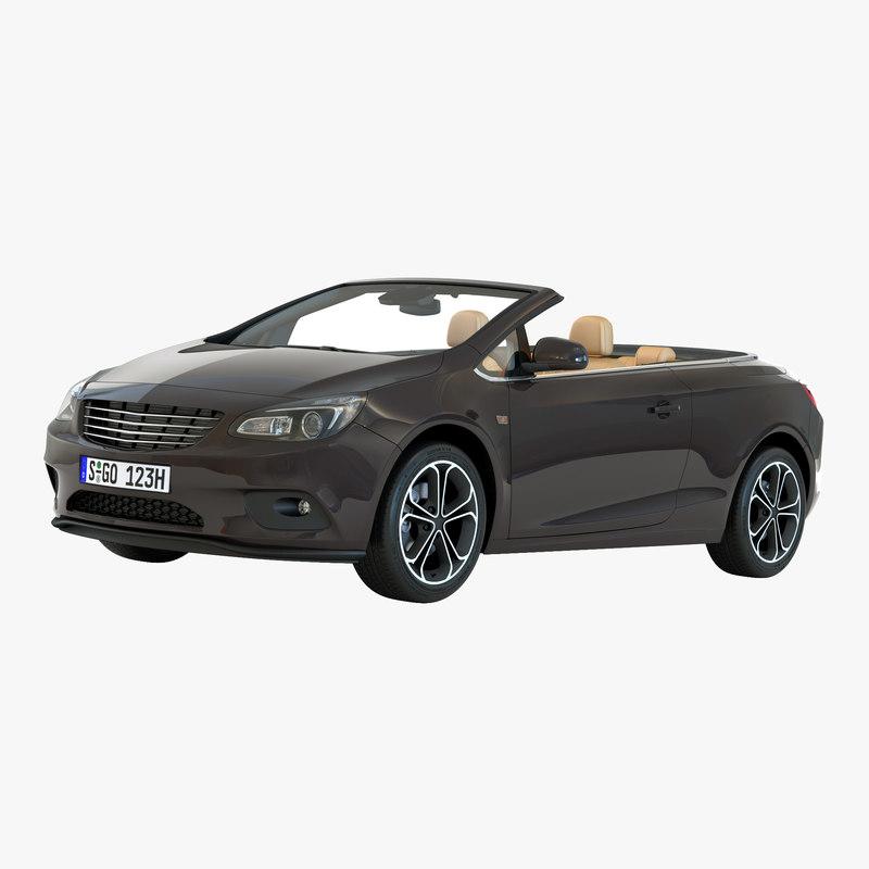 3d generic cabriolet