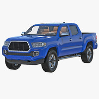generic pickup 3d max