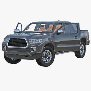 generic pickup rigged max
