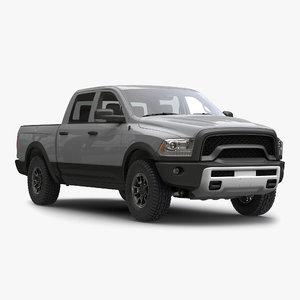 3d generic pickup 2 simple